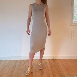 2/$50👗Wilfred Free Midi Bodycon Tank Dress Size S